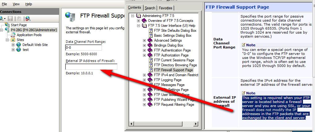 ftp entering passive mode