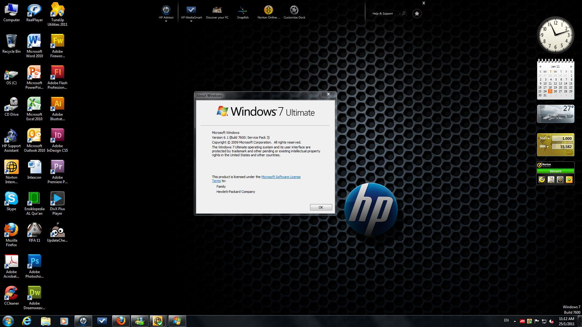 *[NEW DISCOVERY]* My friend's computer has Windows 7 SP3 ...