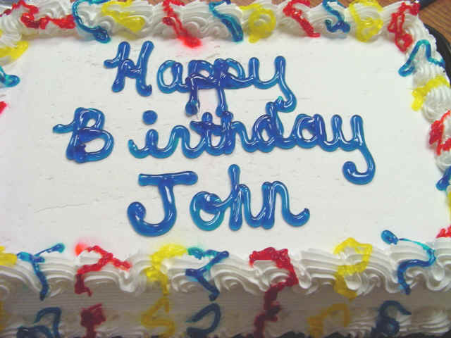 Birthday Cake Image For John : Happy Birthday John Callaham! - Site Announcements ...