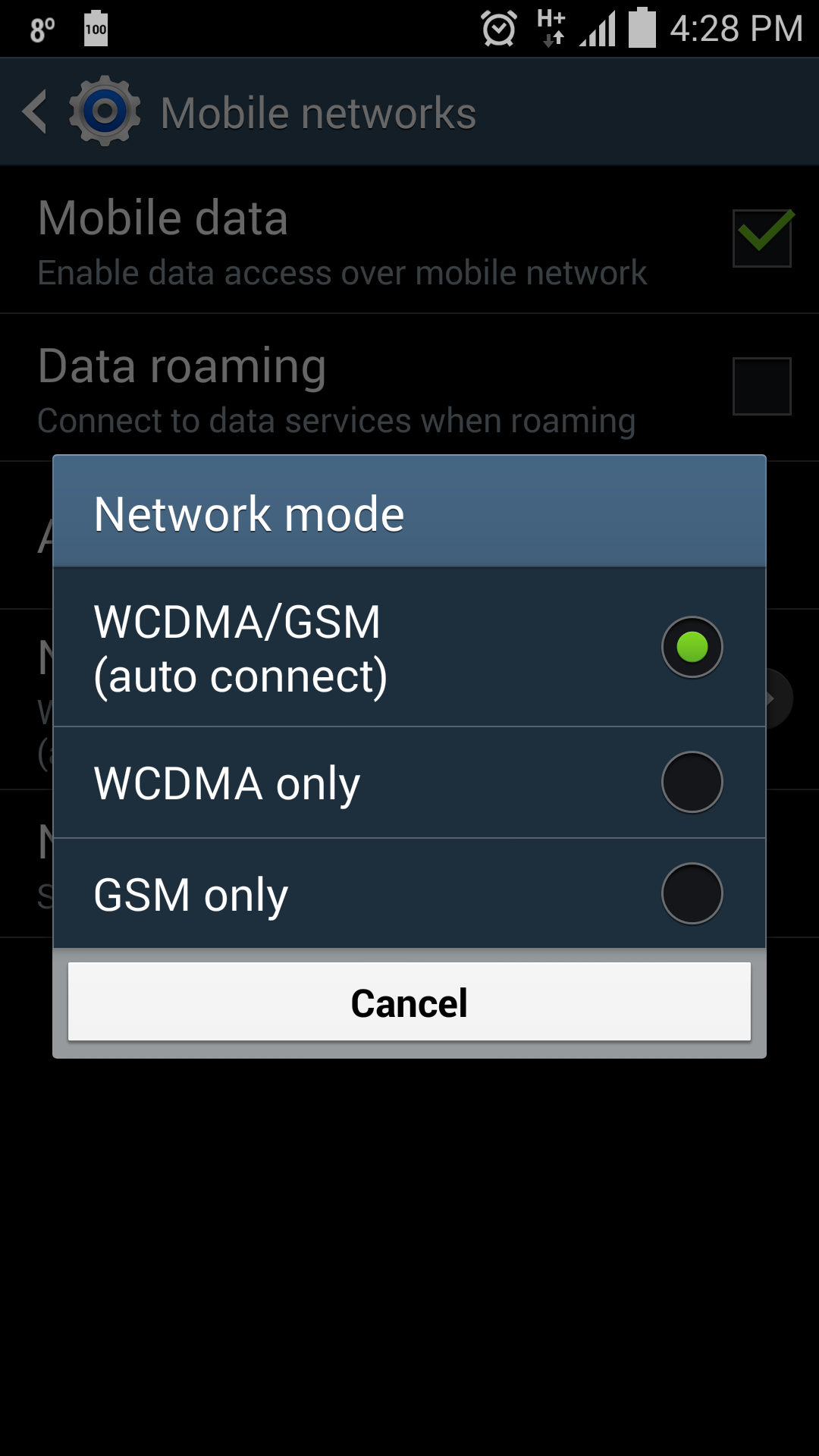 Uk my galaxy s4 never shows 4g symbol in 4g area android neowin share this post biocorpaavc Images