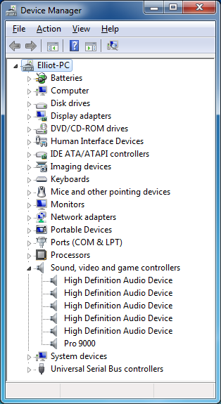 No sound on fresh install of Windows 7 - Hardware Hangout