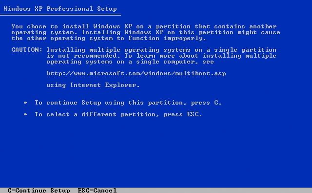 how to install windows xp Before installing windows xp on your pc, you need to create new partition on your windows hard drive or you need to edit the existing partition table but, create, delete or edit of a hard drive partition using windows xp is not simple like windows 7 and later ones.