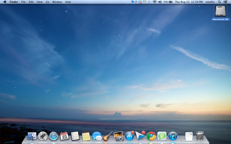 Mac OS X Desktops