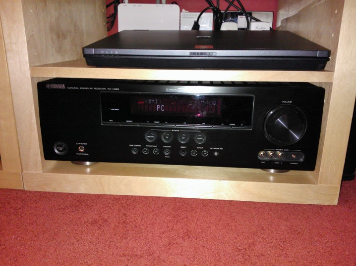 Receiver upgrade yamaha rx v565 home theatre discussion for Yamaha rx v565 manual