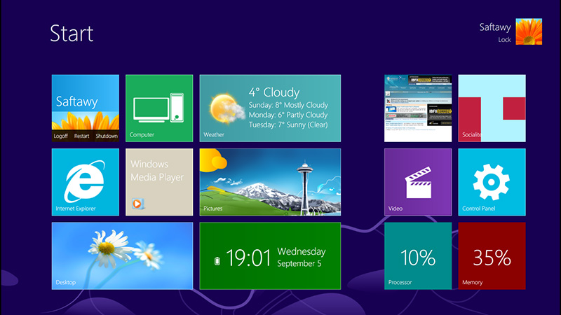 Top 10 windows 7 themes, visual styles, stylish transformation.