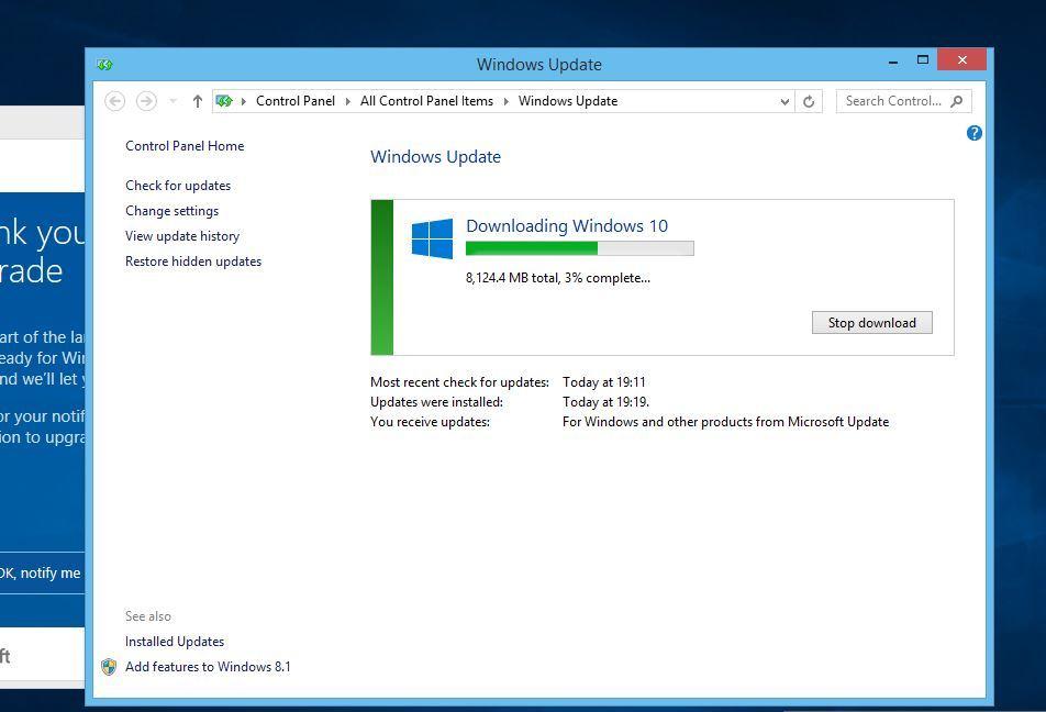 Windows 10 Upgrade: Big Download File Size - Microsoft