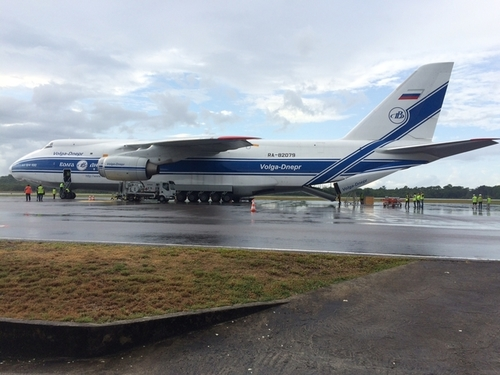 LISA_Pathfinder_Antonov_at_Cayenne_Airpo