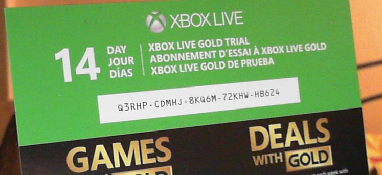 get xbox live gold codes free