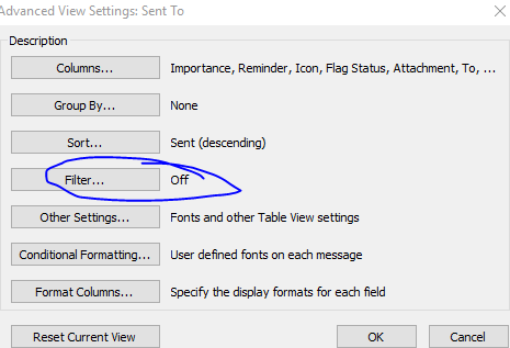 E-mails showing as in Outbox but folder is empty (Outlook