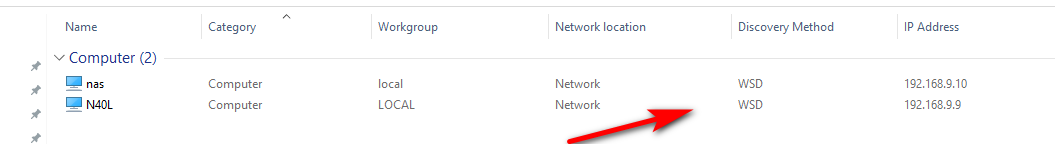 Windows 10 LAN different with April Update - Microsoft