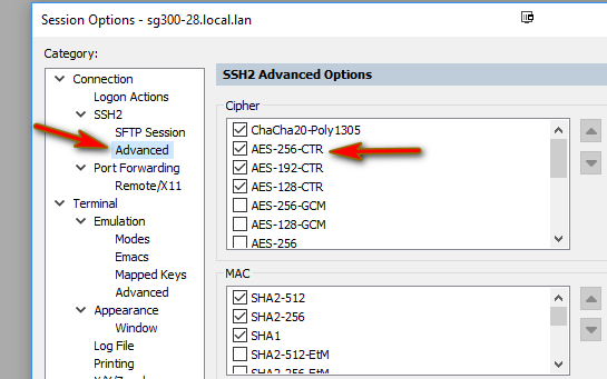 Can't ssh to one of the switches  - The Cloud (Internet, Network