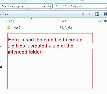 How to compress files exist in one folder into seperated  7z