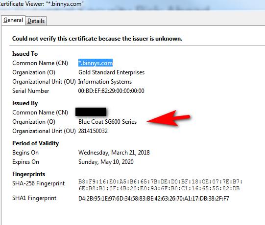 NET:ERR_CERT_AUTHORITY_INVALID - Linux/Unix - Neowin