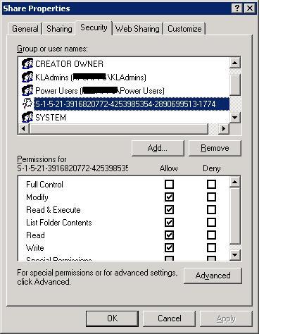 Tool to Resolve SID's? - Microsoft Windows - Neowin
