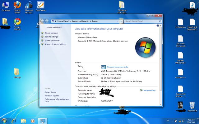 windows 7 home basic standard color scheme tips tweaks os
