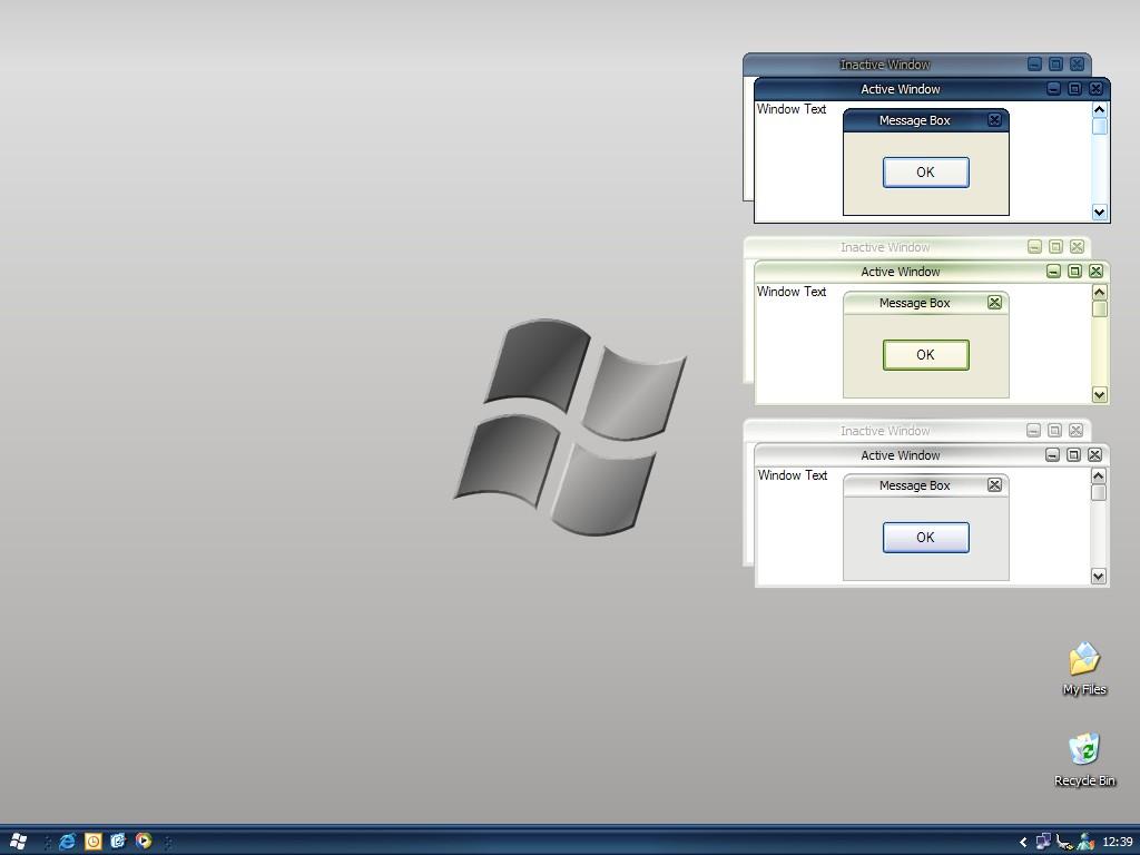 Added Microsoft Luna Metallic shellstyle.dll.