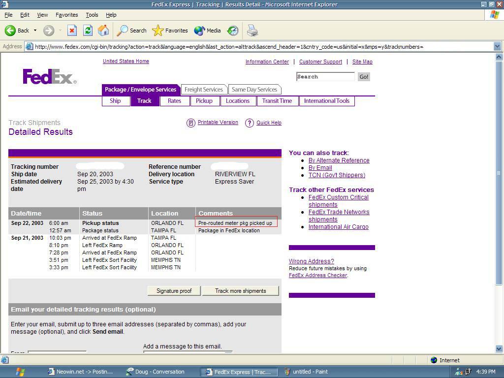 Fedex Website Tracking Sudden High Blood Pressure