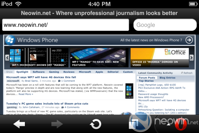 Opera Mini 6 available for iPhone, iPod touch, and iPad - Neowin