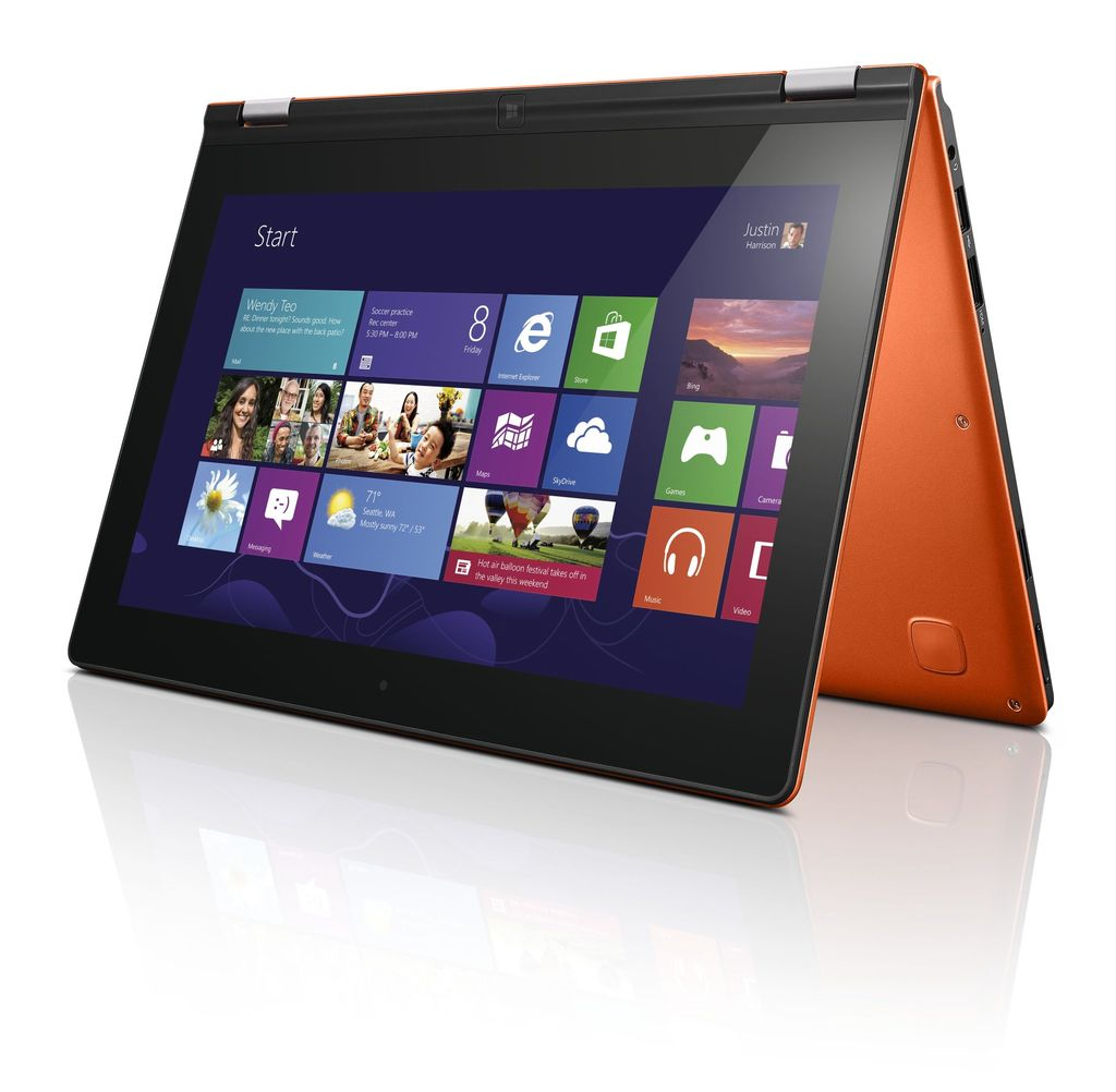 Today showed off their first windows 8 consumer device the yoga