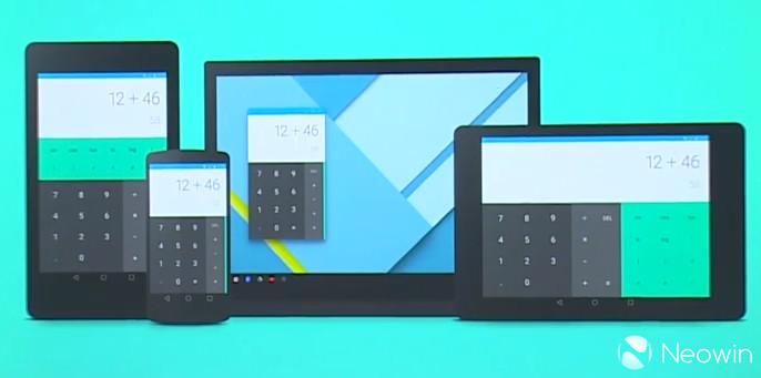 Introducing Google's new design language: 'Material Design ...