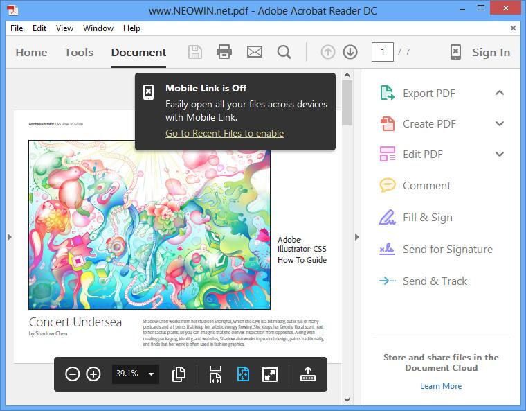 WatFile.com Download Free Gallery: Adobe Acrobat Reader DC