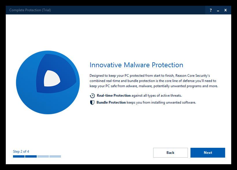 reason core security virus