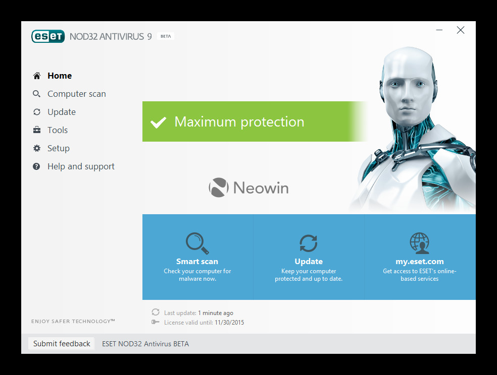 download nod32 version 5