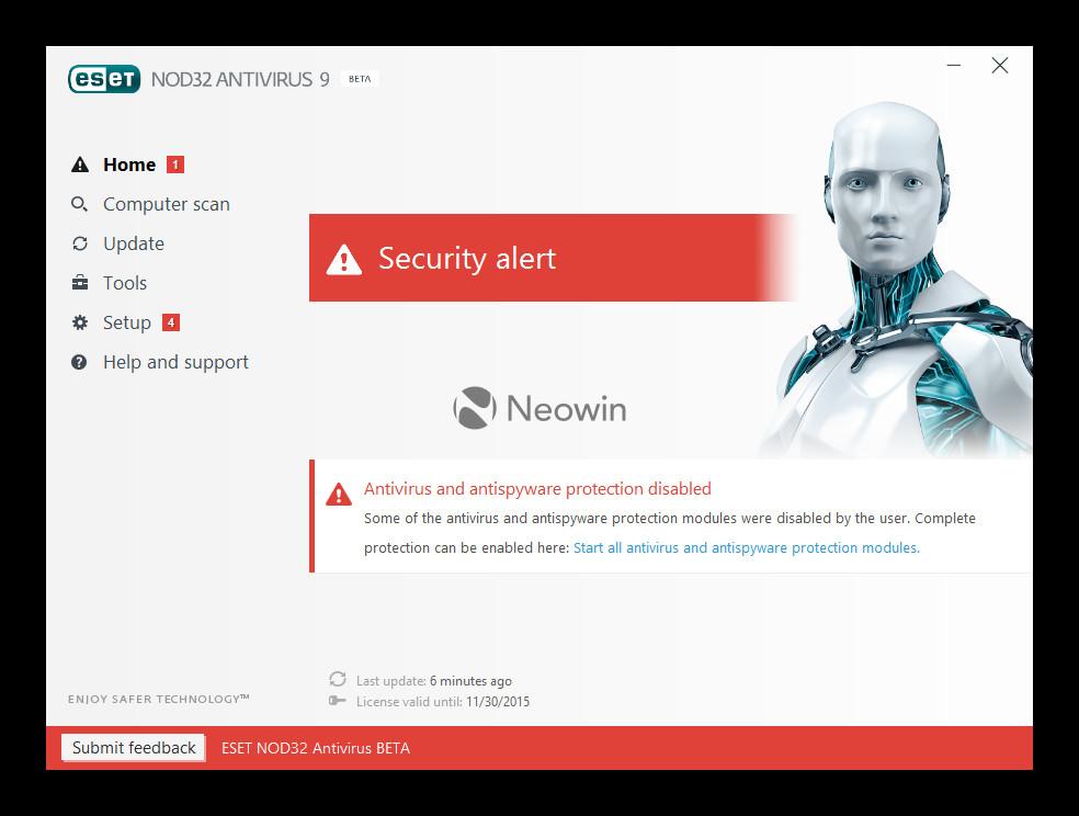 nod32 activation key 9