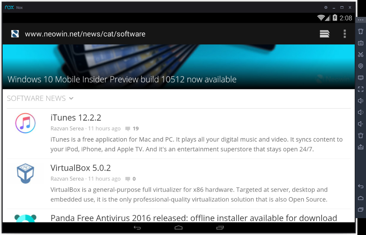 nox download windows 10 latest version