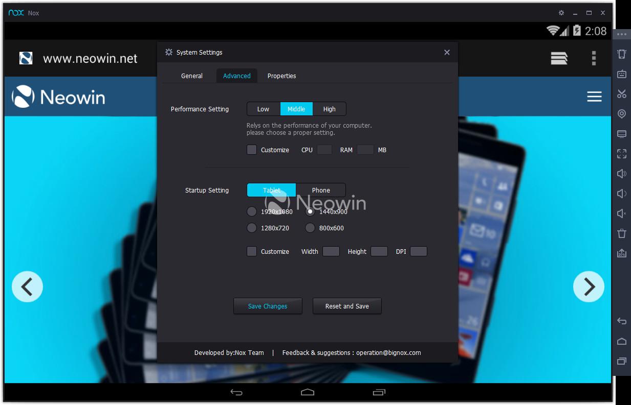 nox app player emulator for windows