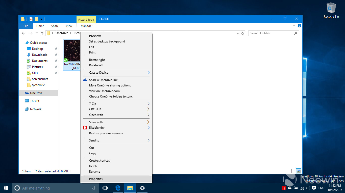Gallery: Windows 10 build 10565 and an Insider Ring slider