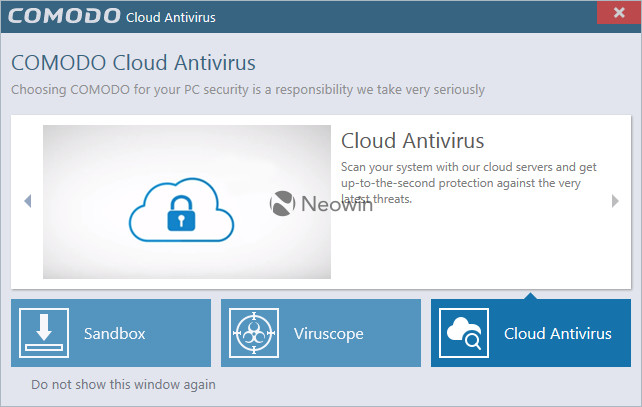 Comodo Cloud Antivirus 1 0 379757 116 - Neowin