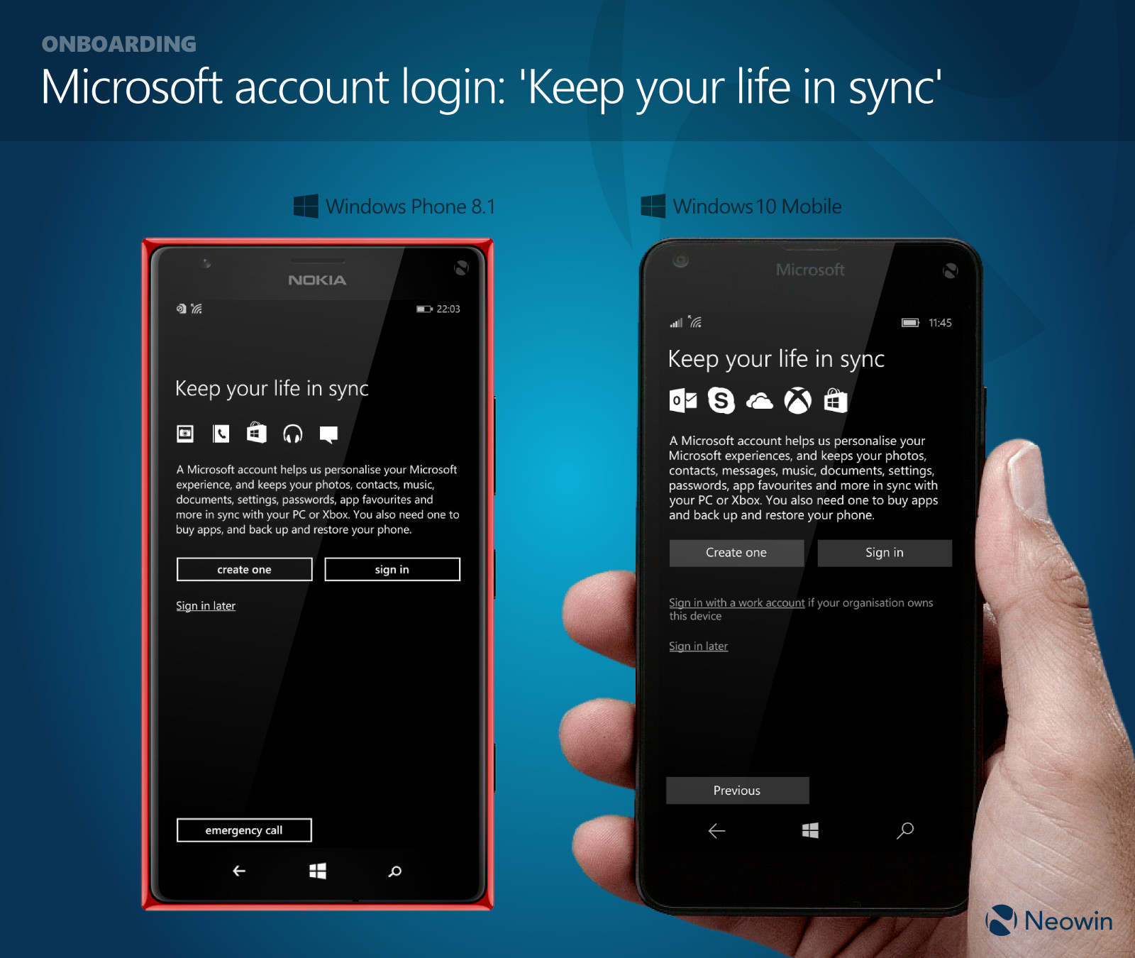 In Pictures  Comparing Windows Phone 8 1 And Windows 10