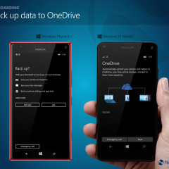 Back up data to OneDrive