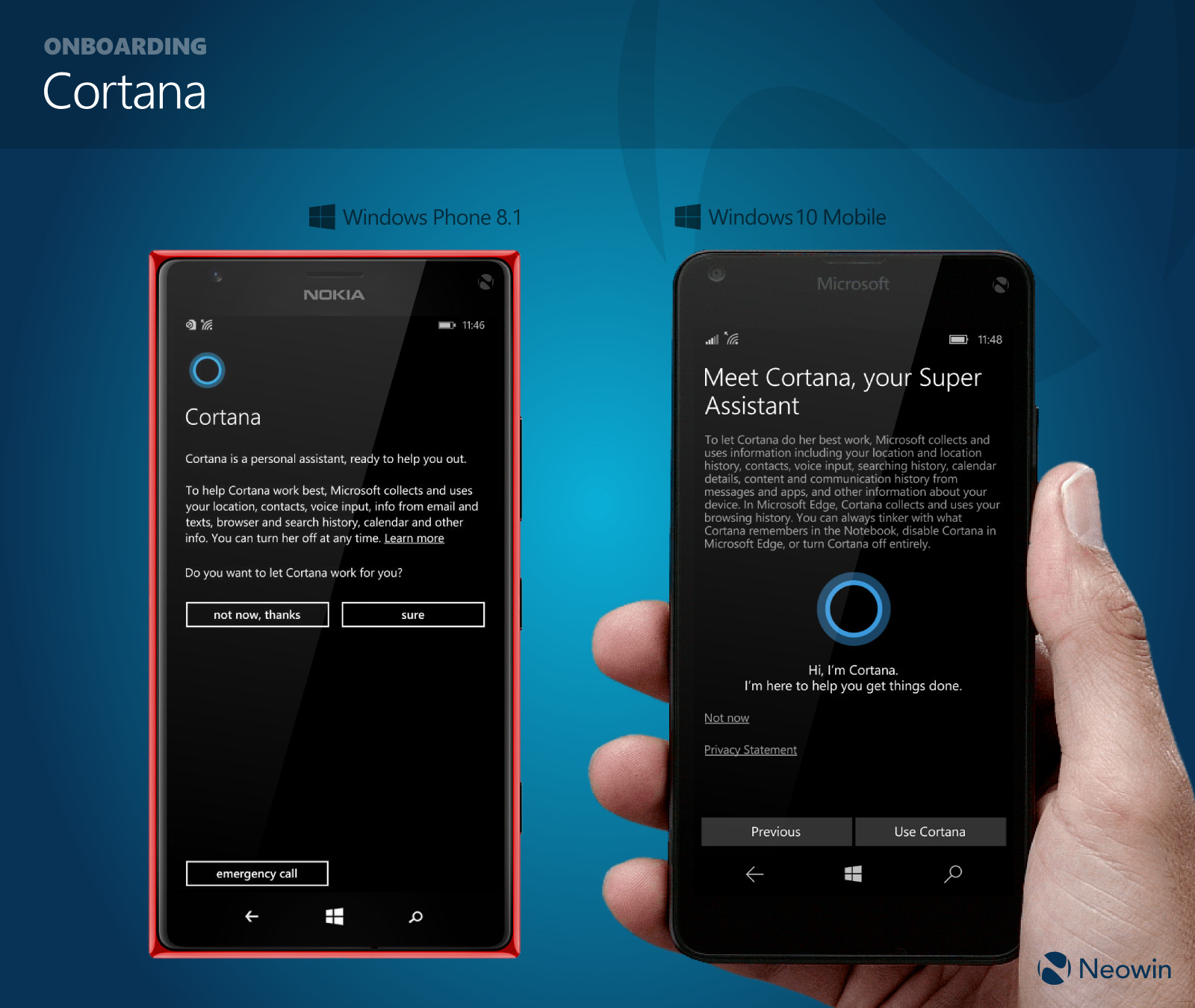 In pictures: Comparing Windows Phone 8.1 and Windows 10 Mobile, side by  side - Neowin