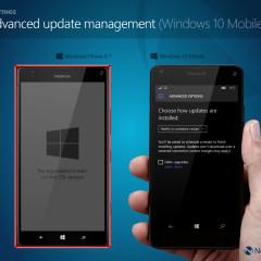 Advanced phone update management options (W10M)