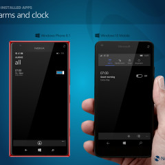 Alarms (WP8.1) / Alarms and clock (W10M)