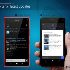Cortana - latest updates based on interests stored in 'notebook'