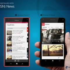 In pictures: Comparing Windows Phone 8 1 and Windows 10 Mobile, side