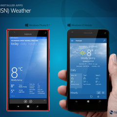 In pictures: Comparing Windows Phone 8 1 and Windows 10