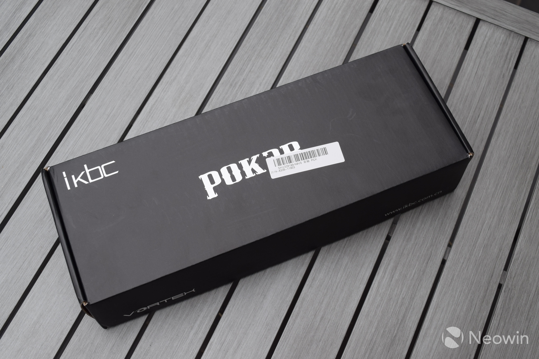 Poker 3 keyboard