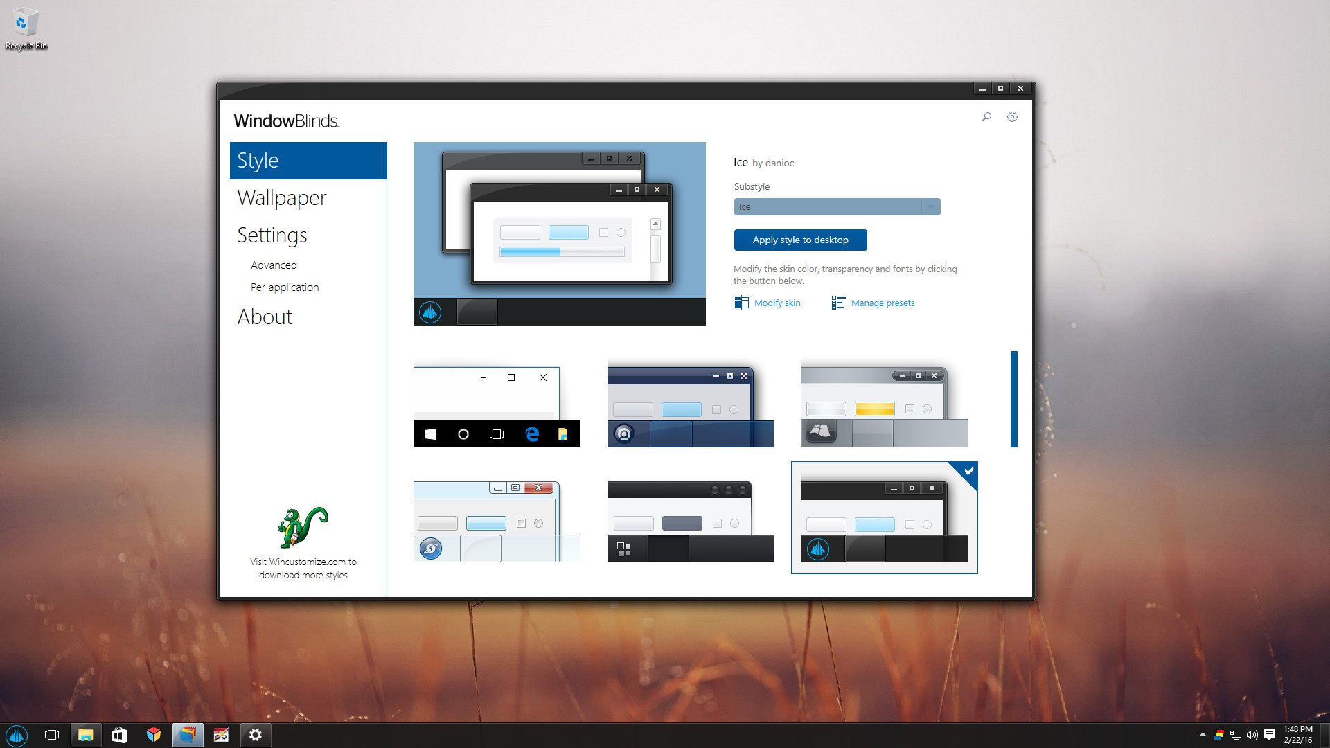 Stardock Announces The Release Of Windowblinds 10 Neowin
