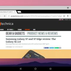 Chrome in Windowed Mode