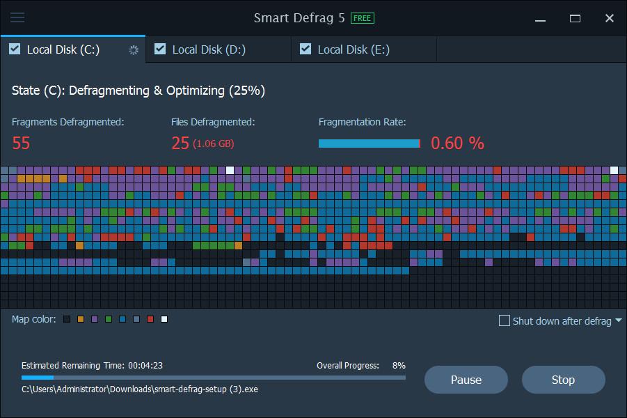 smart defrag 5.0