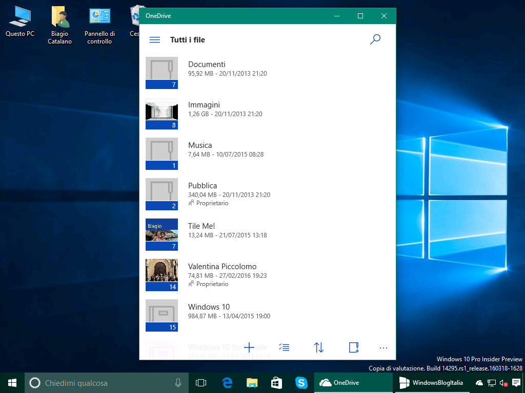 Here's a look at Microsoft's new OneDrive Universal app for