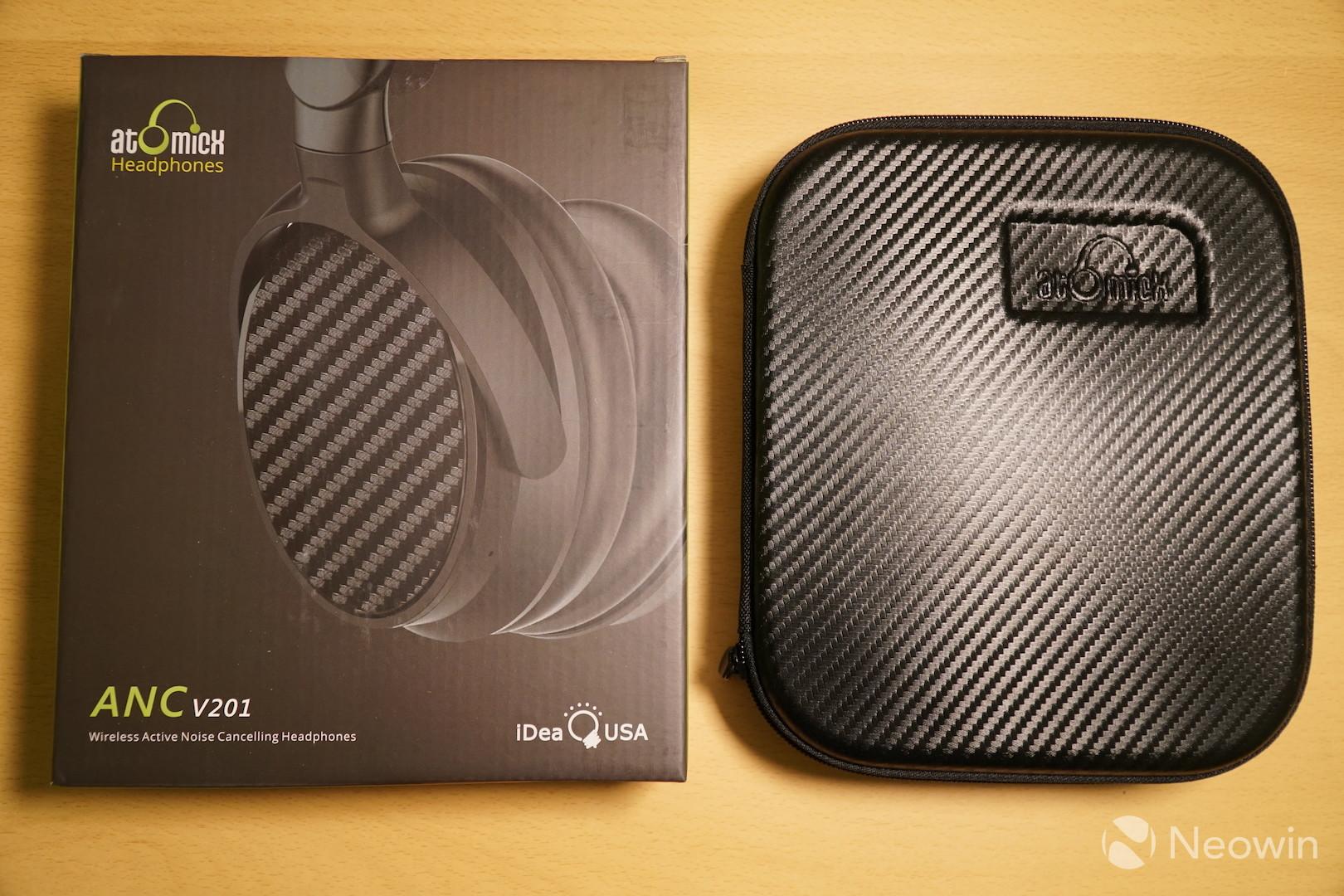 16c8cc720f9 iDeaUSA V201 review: Noise-cancelling headphones that don't quite ...