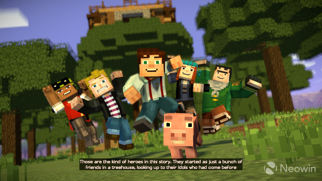 Minecraft Story Mode Season Two Episode One Review More Of The