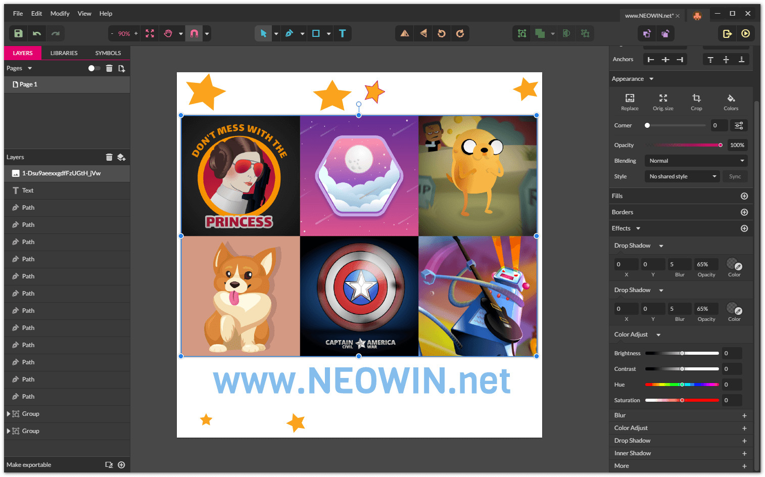 gravit designer 3 2 2 is out  free adobe illustrator