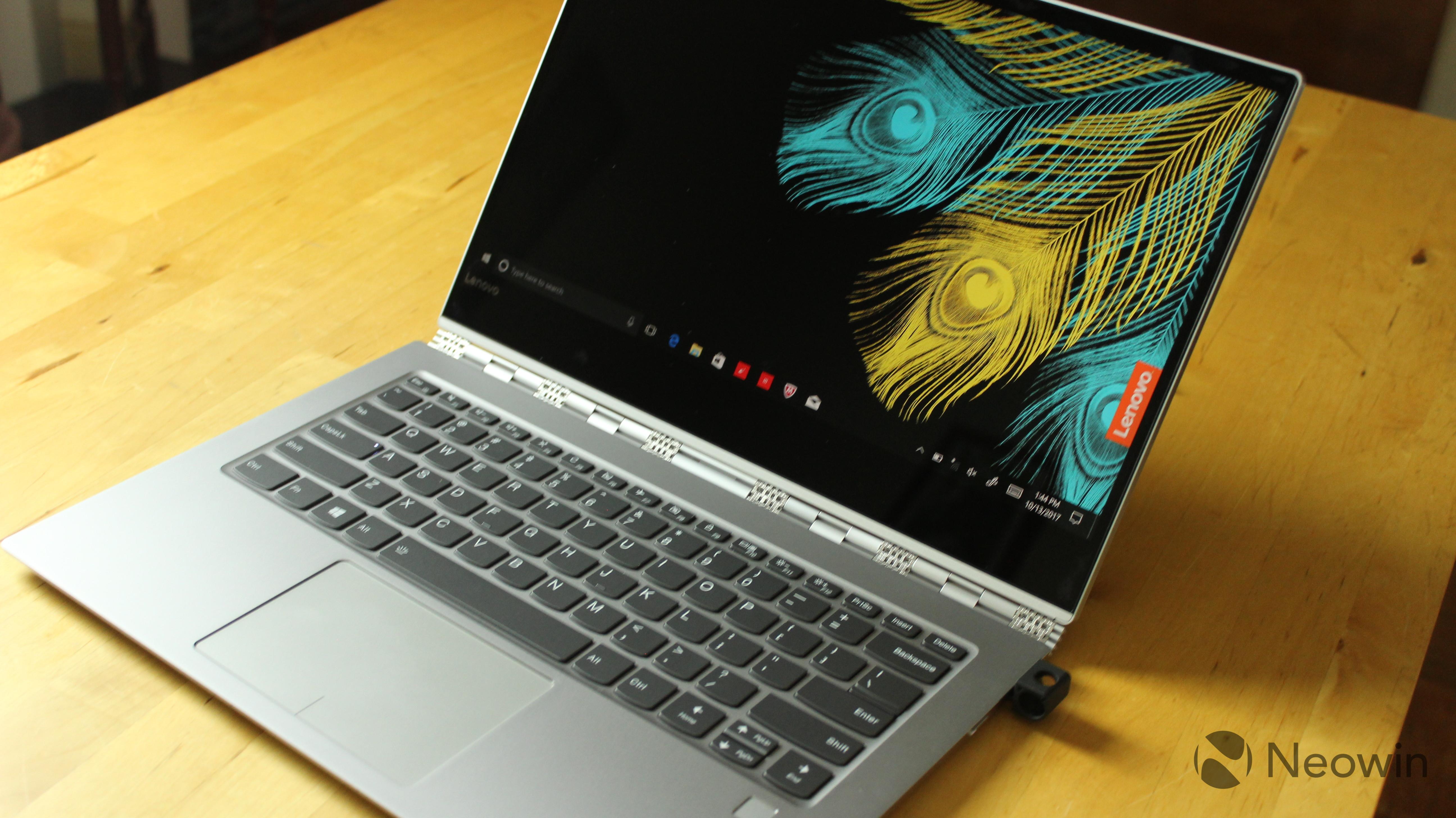 Lenovo Yoga 920 review: A powerful, premium consumer