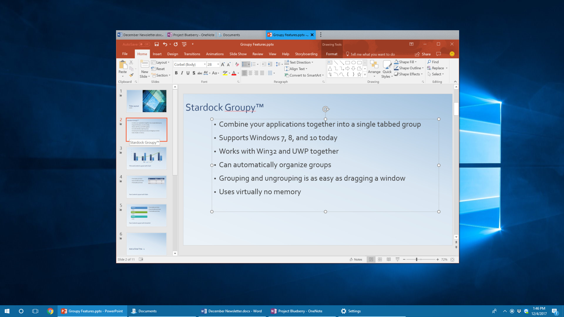 Stardock releases Windows tabbed interface application